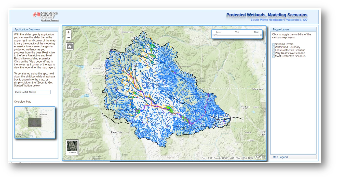 Modeling Federally Protected Waters and Wetlands