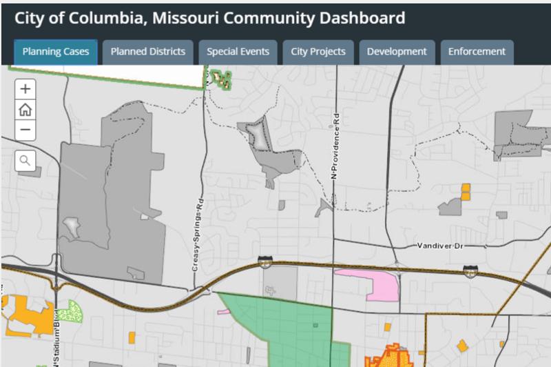City of Columbia IT/GIS Data Hub