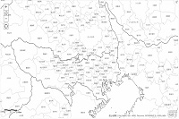 廃止 白地図 地理院タイル