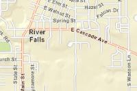Uw River Falls Campus Map