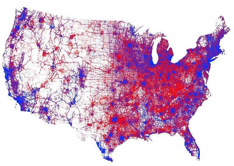 Map Of Usa Election Comparing Election Maps in USA