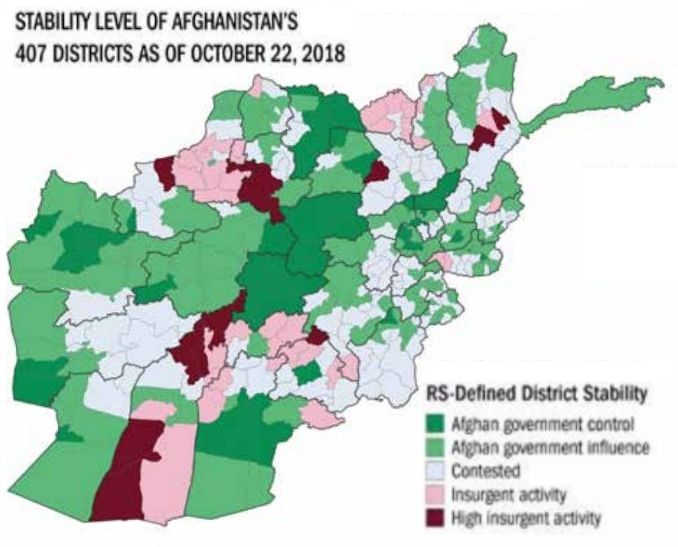 Afghanistan District Maps