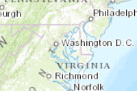Topographic Map Of Maryland Counties And Maryland Roads