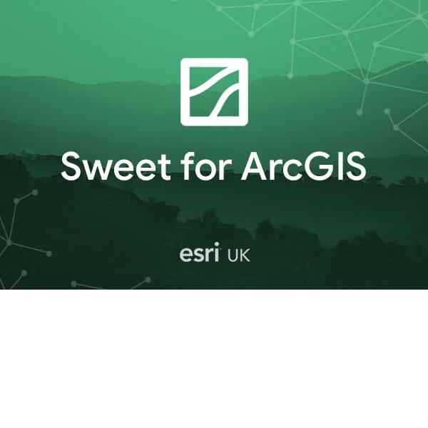 Sweet for ArcGIS Online Builder