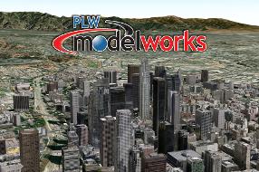 PLW Los Angeles 3D City Model
