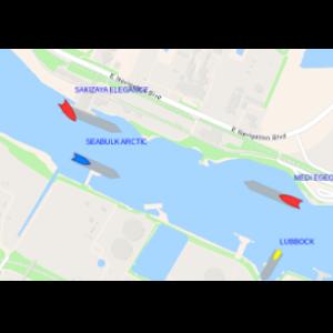 Corpus Christi Real-Time Vessel Layer