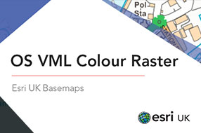 OS VML Colour Raster Basemap - Esri UK Premium Data