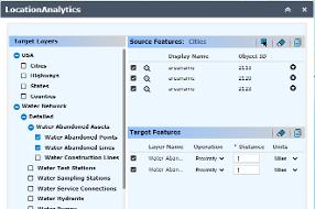 iSpatialTec - Location Analytics Widget
