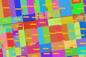 AND ZIP4 Boundaries, free sample data of San Francisco county.