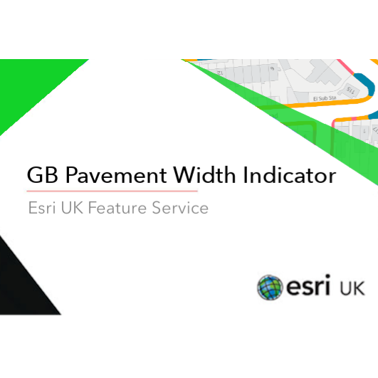 GB Pavement Width Indicator - Feature Service