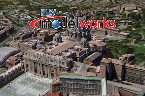 PLW Rome 3D City Model