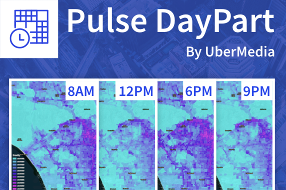 Pulse Daypart--Human Movement Density
