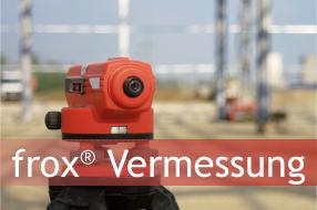 frox® Vermessungs-Suite - Mobile GIS Datenerfassung und Vermessung