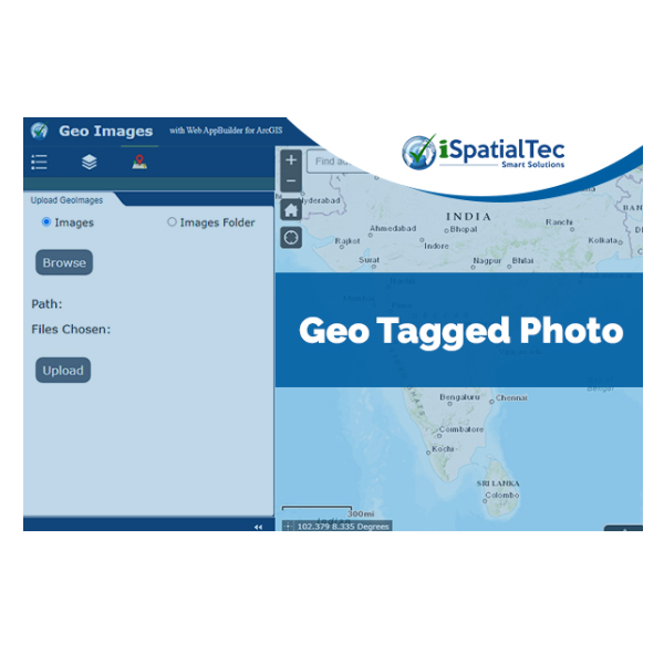 iSpatialTec Geotagged Photos Widget
